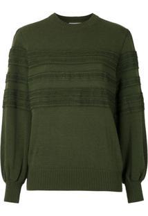 Nk Pullover Era De Tricô - Verde