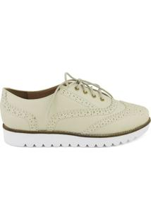 Oxford Feminino Milano Napa Vegetal Off White 8813