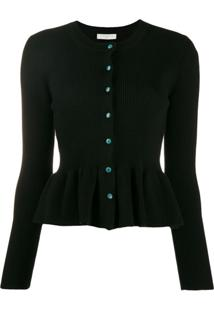 Sandro Paris Cardigan Baskian - Preto