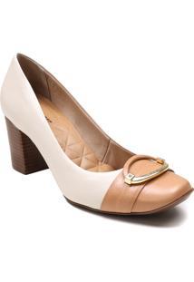 Sapato Scarpin Jorge Bischoff Salto Grosso