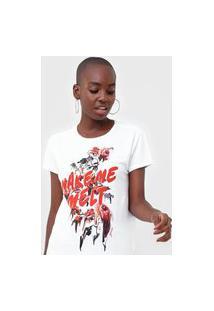 Camiseta Guess Make Me Branca