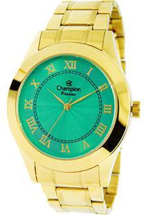 a0d10315bc9 ... Relógio Champion Analógico Ch24544G Feminino - Feminino-Dourado