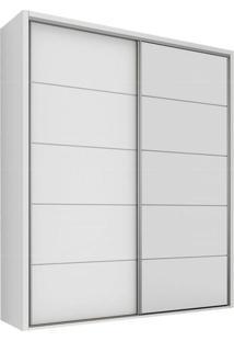 Armário Tw101 2 Portas Sem Espelho Branco Brilho