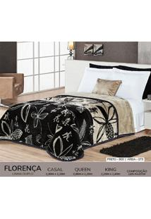 Cobertor Queen Dupla Face Duplo - Florença