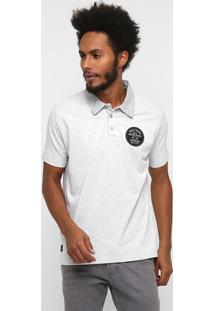 Camiseta Polo Oakley Mod Simple Stripes - Masculino