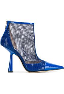 Jimmy Choo Ankle Boot Kix - Azul