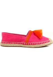 Alpargata Zariff Shoes Espadrille Rosa