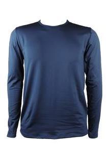 Blusa Térmica Masculina Segunda Pele Thermo Premium - Cor Azul Marinho