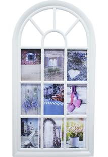 Porta Retrato Minas De Presentes 9 Fotos 10X15Cm Bege