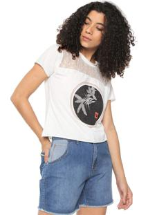 Camiseta Hang Loose Little Sweet Branca