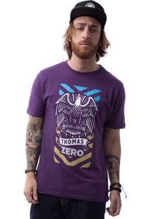 Camiseta Zero Eagle Roxo