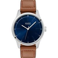 63fd7d750ac Relógio Hugo Boss Masculino Couro Marrom - 1530029