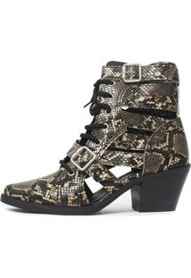 Bota Gladiadora Damannu Shoes Jennie Tan