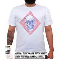 0bc615d97a Camiseta Poliester Tattoo masculina