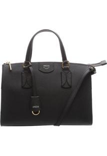 Bolsa Texturizada Com Bag Charm- Pretaarezzo & Co.