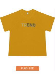 Blusa Feminina Trend Amarelo