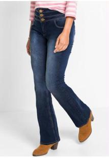 Calça Jeans Bootcut Azul