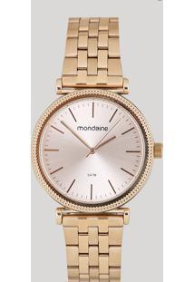 Relógio Analógico Mondaine Feminino - 53722Lpmvre1 Rosê - Único