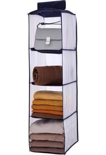 Prateleira Dobrável Closet Concept Em Tnt 28Cm Paramount