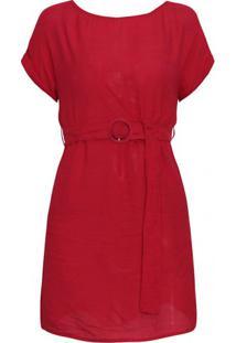 Vestido Florença - Vermelho P