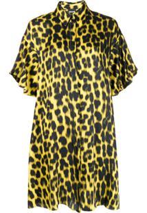 Just Cavalli Chemise Com Animal Print - Amarelo