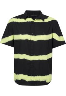 Camisa John John Lemon Algodão Preto Masculina (Preto, Pp)