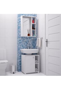 Conjunto Para Banheiro Bkb01 - Brv - Branco