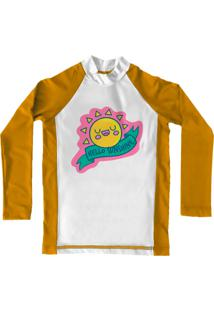Camiseta De Lycra Comfy Sunshine