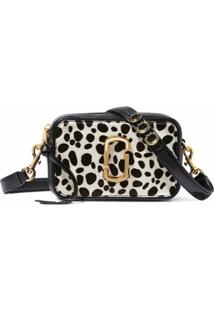 Marc Jacobs The Softshot 17 Animal-Print Camera Bag - Preto