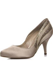 Sapato Feminino Festa Nude - Ri5725 Nude