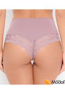Calcinha Cavada Com Renda Love Secret Sensual Shape (820203) Lenzing Modal®