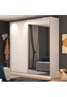Guarda Roupa Solteiro 1 Espelho 2 Portas 3 Gavetas Rc2006 Nova Mobile