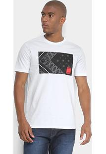 Camiseta Calvin Klein Bandana Masculina - Masculino