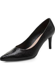 Sapatos Femininos Corello Scarpin Preto