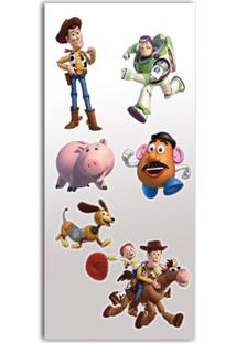 Adesivo De Parede 56X22 Toy Story Gedex Bege