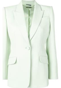 Alexander Mcqueen Tailored Jacket - Verde