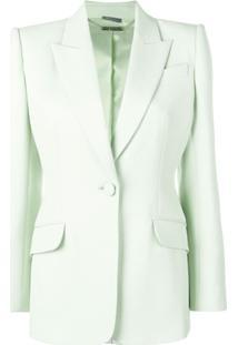 Alexander Mcqueen Tailored Jacket - Verde