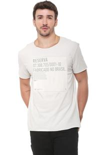 Camiseta Reserva Crepe Off-White