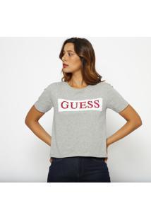 Blusa Guessâ®- Cinza & Vermelha- Guessguess