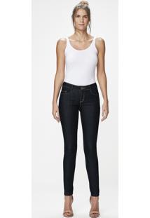 ... Calça Jeans Skinny Cintura Média Malwee 00f0c15b50a