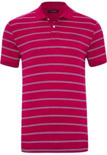 8118ce425f Camisa Pólo Com Manga Pierre Cardin masculina