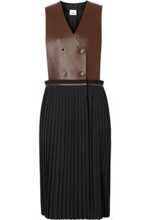Burberry Vestido Salopete - Preto