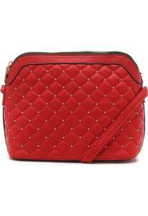 Bolsa Fiveblu Matelassê Vermelha