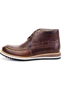 Bota The Box Project Jack Masculina - Masculino-Café