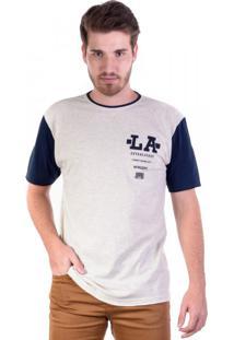 Camiseta Silk La Frente E Costas