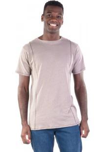 Camiseta Recortes Trançadeira Eco Naturaleza