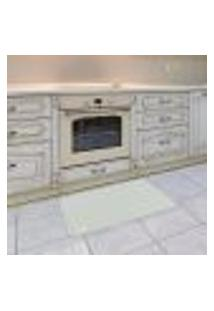 Tapete De Cozinha Mdecore Abstrato Azul 40X60Cm
