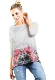 cd52c7bb8 Blusa Dia A Dia Estampada Floral feminina   Gostei e agora?