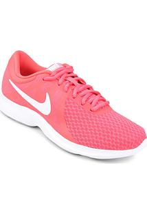 Tênis Nike Revolution 4 Feminino - Feminino-Rosa+Branco