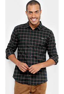 Camisa Xadrez Colcci Flanelada Masculina - Masculino